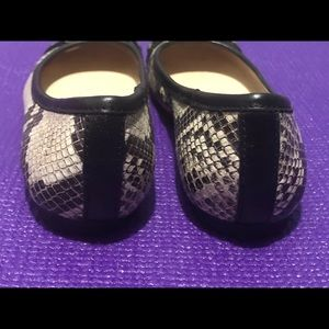 Anne Klein snakeskin print, Lion head, casual